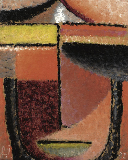 Art Prints of Abstract Head by Alexej Von Jawlensky