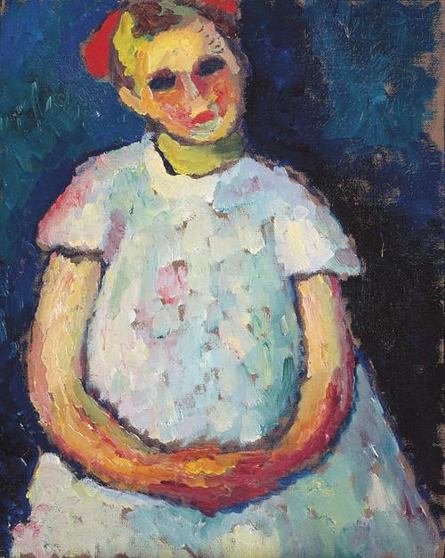 Art Prints of Child with Folden Hands by Alexej Von Jawlensky