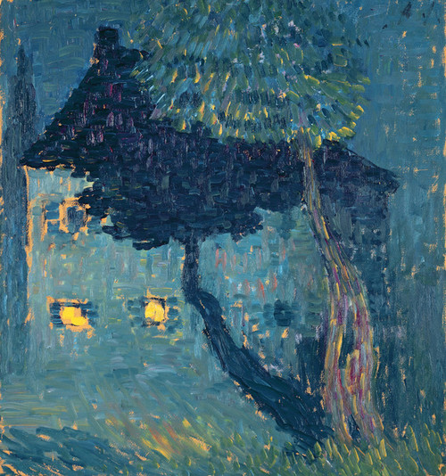 Art Prints of Cottage in the Woods by Alexej Von Jawlensky
