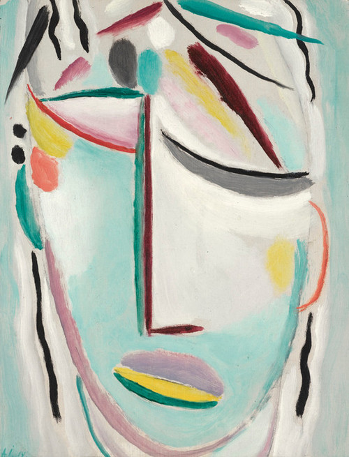 Art Prints of Savior's Face, Martyr by Alexej Von Jawlensky
