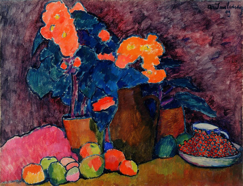 Art Prints of Still Life, 1909 by Alexej Von Jawlensky