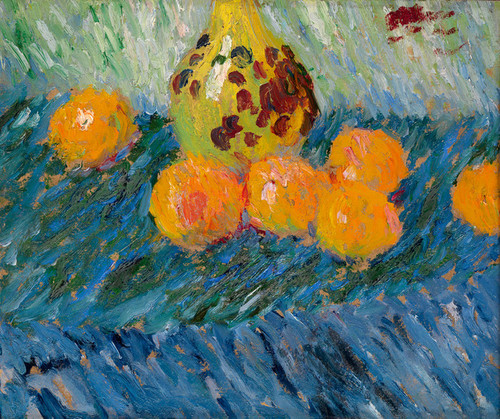 Art Prints of Still Life with Oranges by Alexej Von Jawlensky