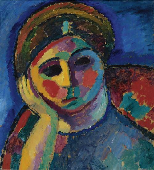 Art Prints of The Thinking Woman by Alexej Von Jawlensky
