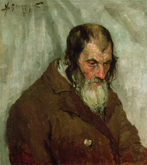 Art Prints of The Old Jew by Alexej Von Jawlensky