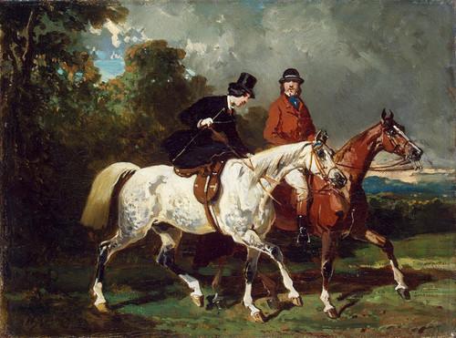 Art Prints of Ride by Alfred de Dreux