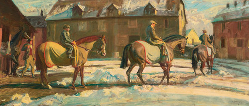 Art Prints of Morning Exercise by Alfred James Munnings