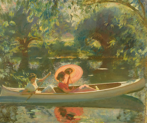 Art Prints of September Afternoon by Alfred James Munnings