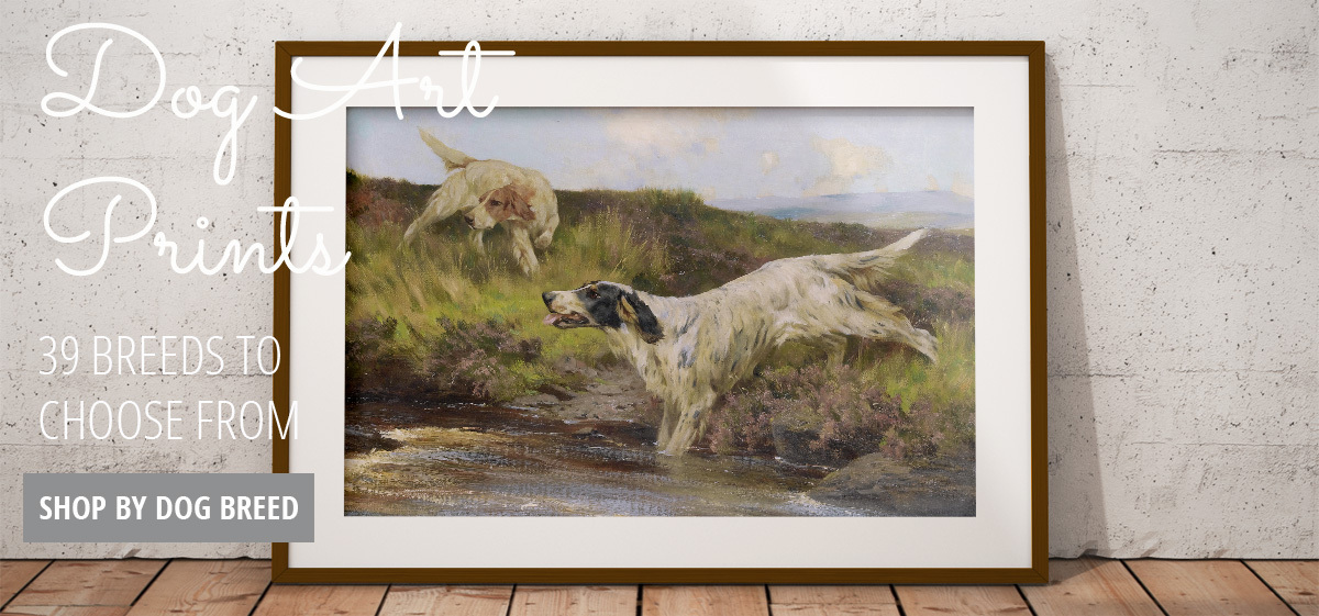 Shop Dog Art Prints - 39 Breeds Available