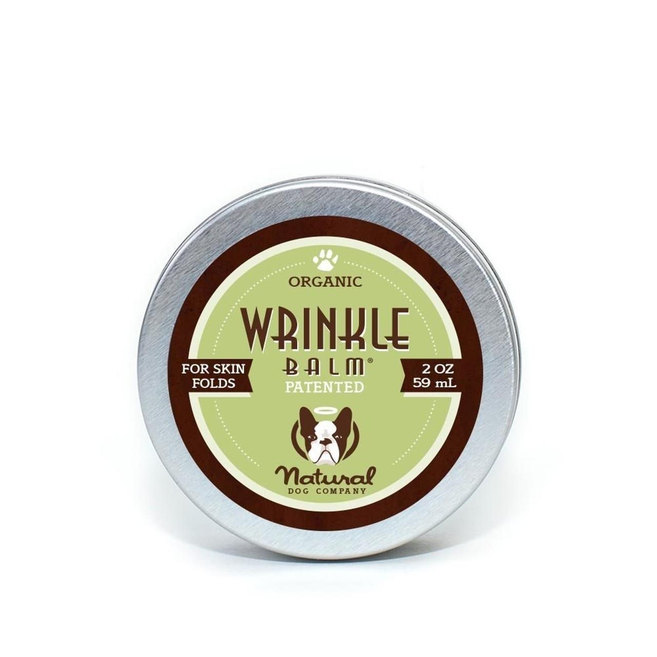 Natural Dog Company Wrinkle Balm Stick 100% Natural Organic Wrinkle Balm For Dry Crusty Dog Wrinkles