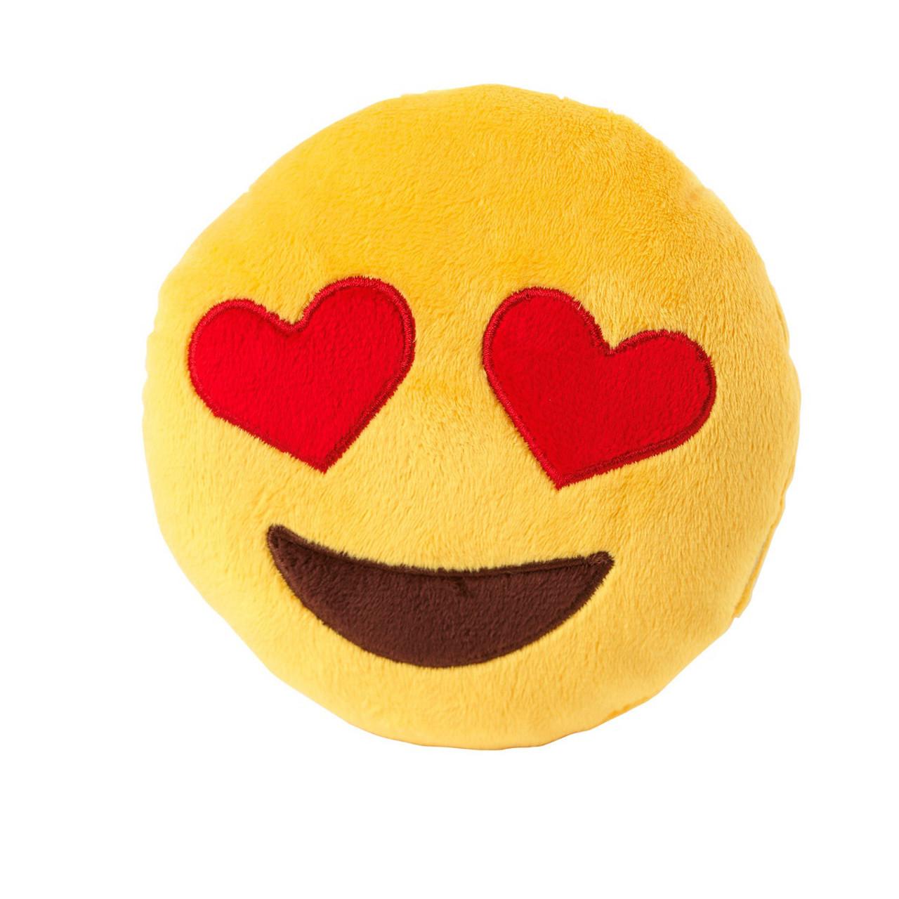 FuzzYard Emoji Love Eyes Plush Toy