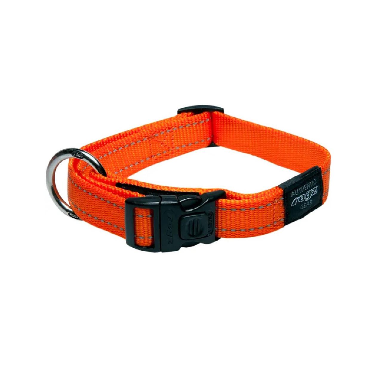 Rogz Classic Collar Orange