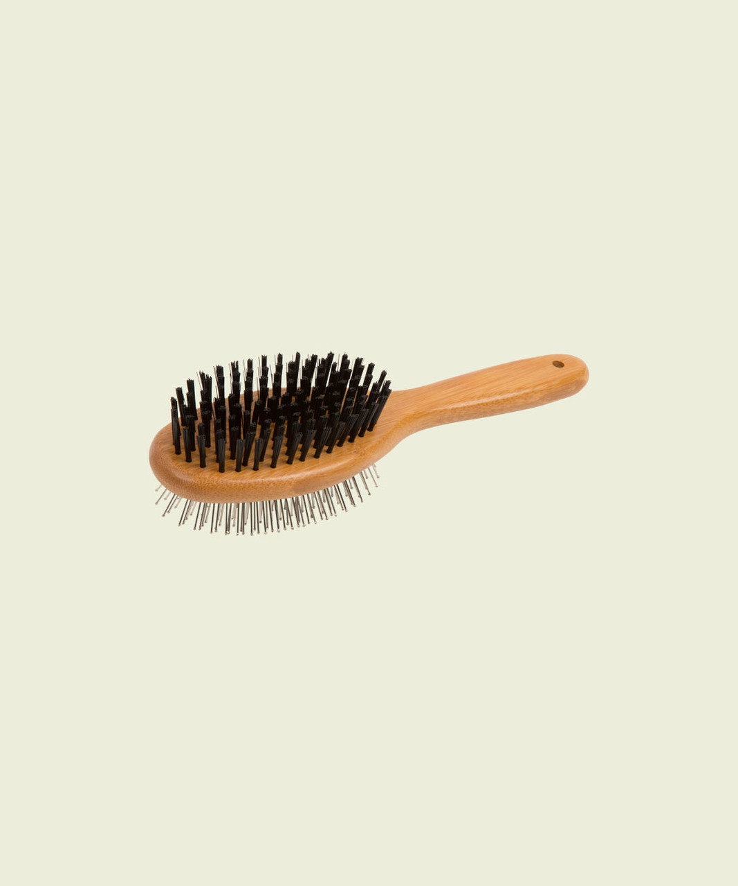 Essential Dog Two Sided Bamboo Brush