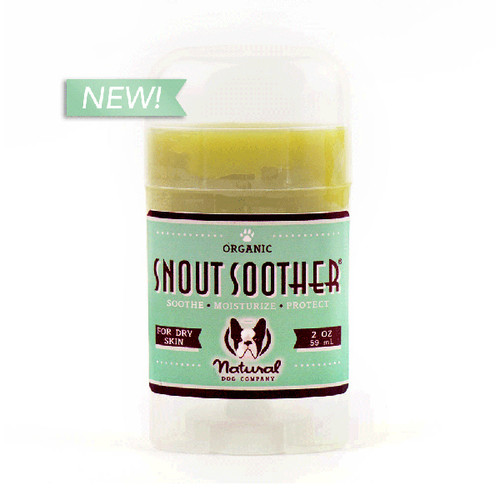 Natural Dog Company Snout Soother Stick 59ml 100% Organic For Dry Crusty Snouts