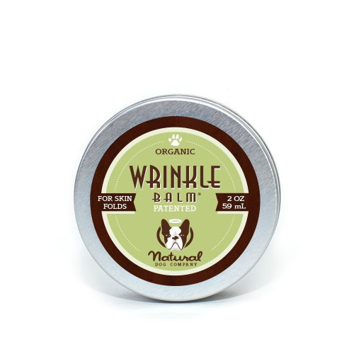 Natural Dog Company Wrinkle Balm Stick 100% Natural Organic Wrinkle Balm For Dry Crusty Dog Wrinkles