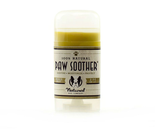 Natural Dog Company Paw Soother Stick 100% Natural Organic Product For Sore Burnt Dog Paws Pads