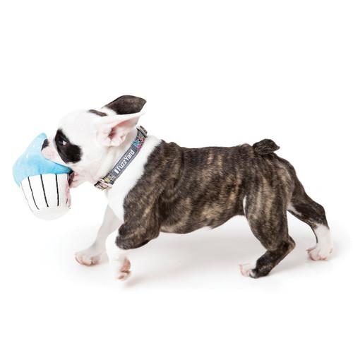 Fuzzyard Blue Plush Cupcake Dog Puppy Toy