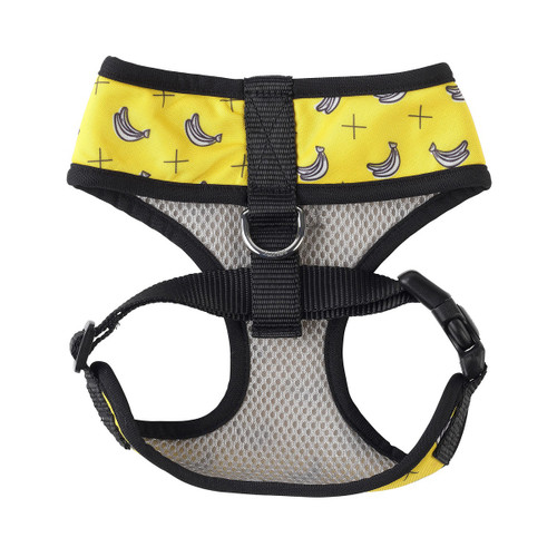 Fuzzyard Monkey Mania Banana Design Dog Puppy Harness