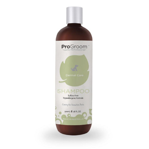 ProGroom Dermal Care Shampoo for dogs puppies kittens 500ml