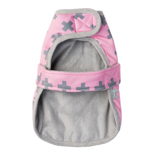 FuzzYard Noth Yeezy Pink Wrap Vest Dog Puppy Jacket Coat
