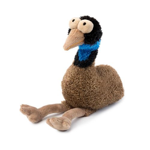fuzzyard oz the emu plush dog puppy toy