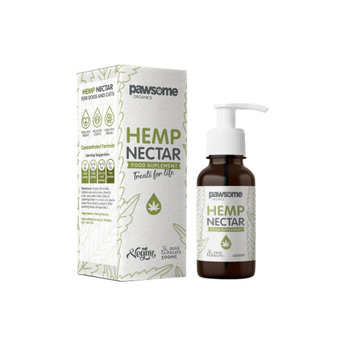 Pawsome Organic Hemp Nectar 100ml