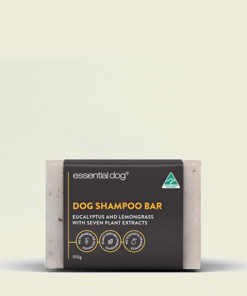 Essential Dog Solid Dog Shampoo Bar: Neem Seed, Lemongrass And Eucalyptus