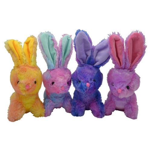Plush Tie Dye Bunny