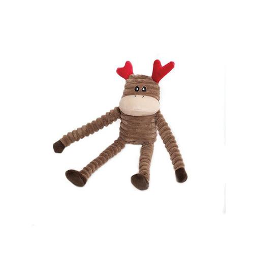 ZippyPaws  - Crinkle Reindeer