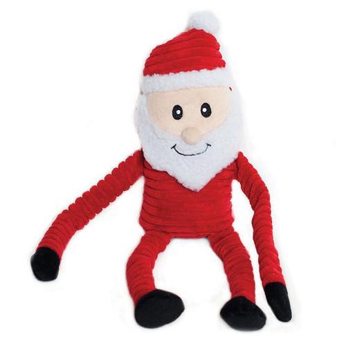 ZippyPaws  - Crinkle Santa