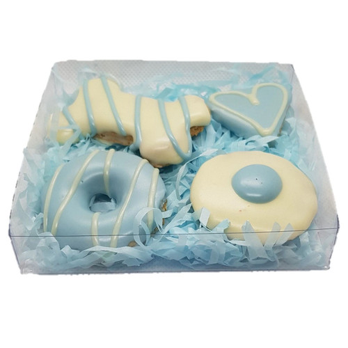 Huds and Toke Blue Cookie Gift Box