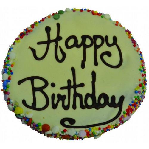 Huds and Toke Yogurt Frosted Birthday Cake 12cm