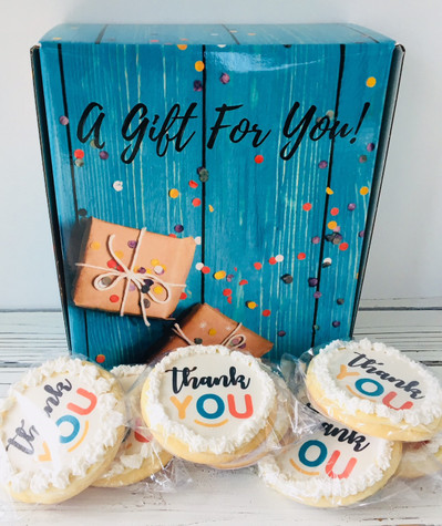 Thank You Cookie Box- Large