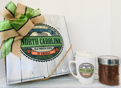 North Carolina Mugs Gift Box