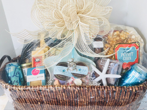 Coastal Snack Basket Large