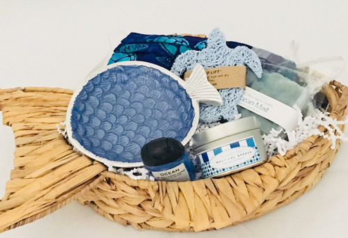 Coastal Sea Spa Gift Basket