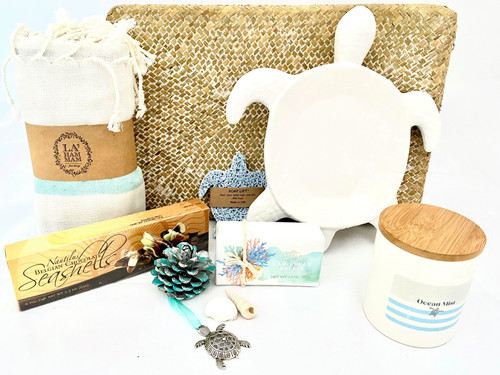 Coastal Spa Gift Basket