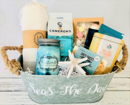 Seas the Day Personalized Beach Gift