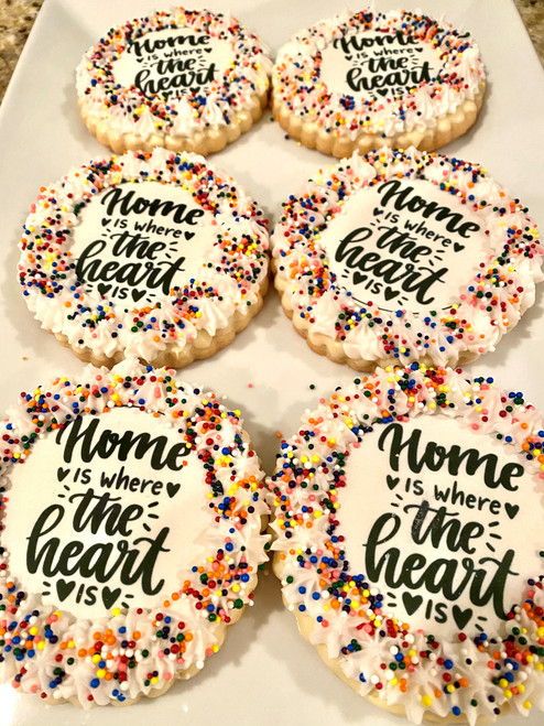 Home is Where the Heart Is Cookies