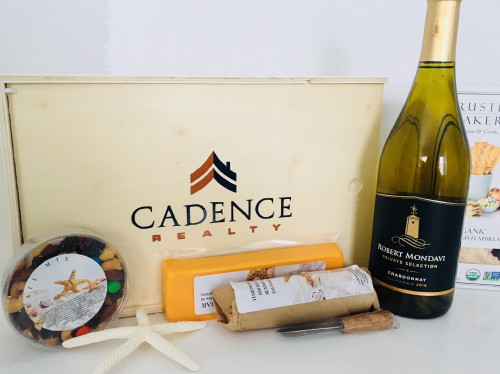 Charcuterie Gift with Wine