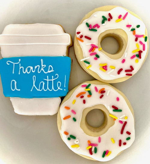 Thanks a Latte Cookie Gift