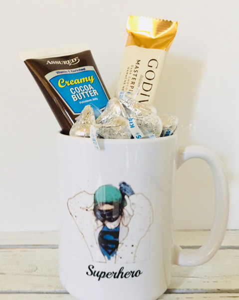 OPERATION GIFTING- Superhero Mug