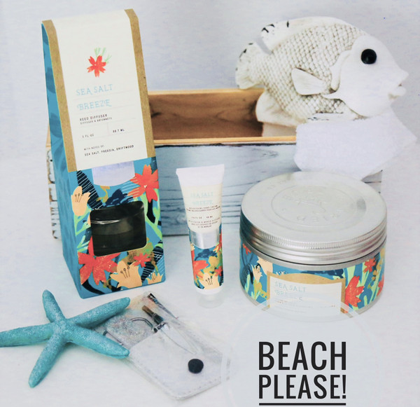 Beach Scents and Home Spa