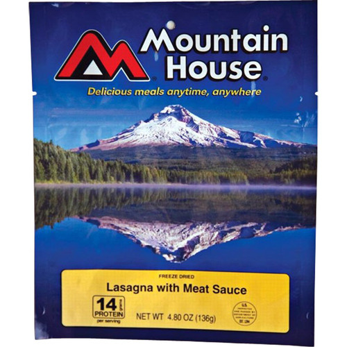 Mountain House  Lasagna With Meat Sauce - Two 10oz Servings