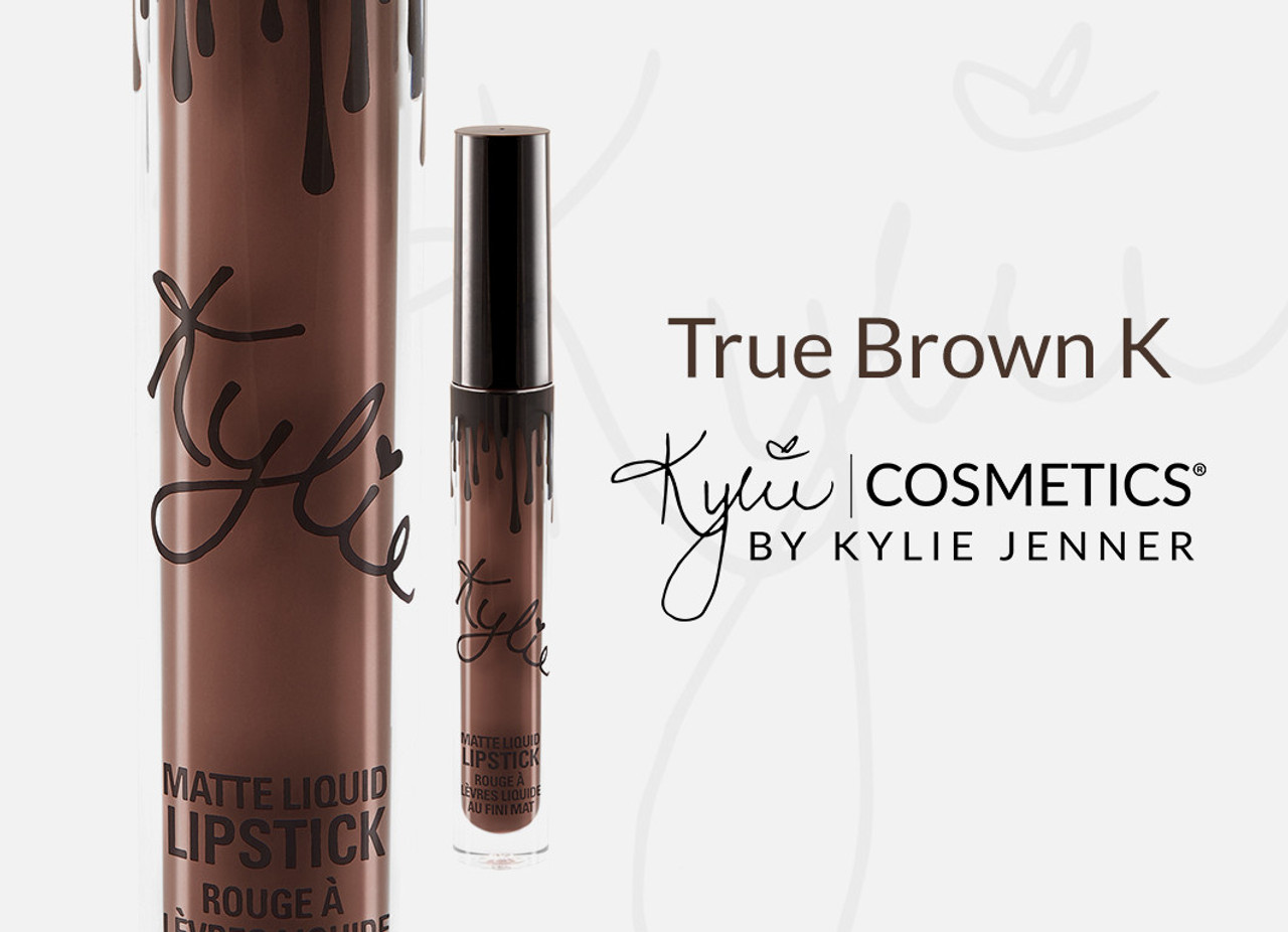 kylie cosmetics matte single true brown k