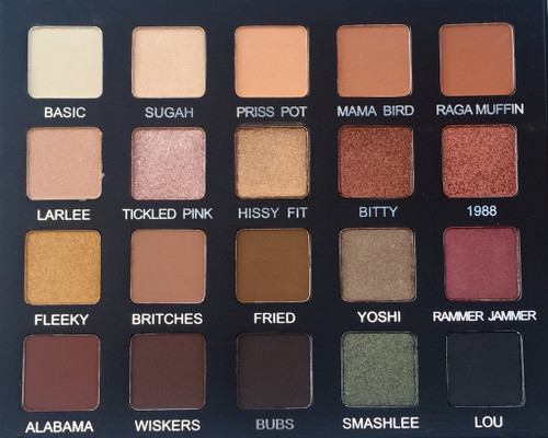 Violet Voss Cosmetics - Laura Lee Eyeshadow Palette (Limited Edition)