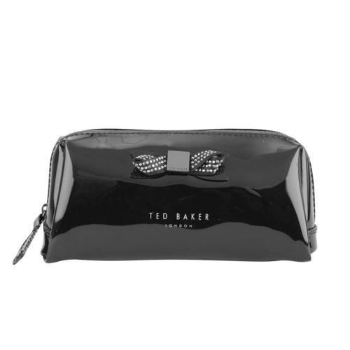Ted Baker Makeup Bag- Metallic Black