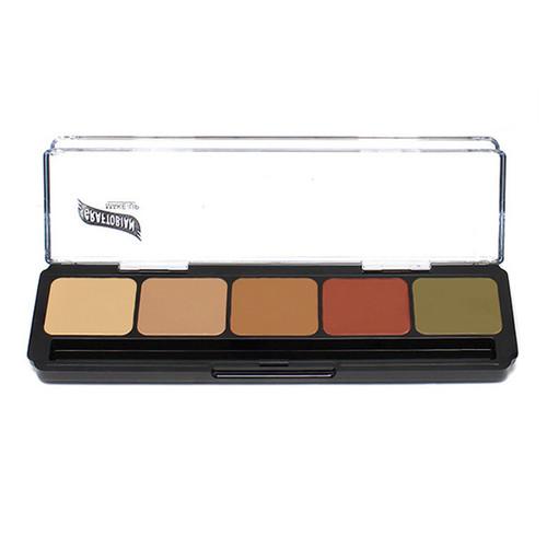 Graftobian - Hi Def Glamour Cream Correcting Palette - Dark