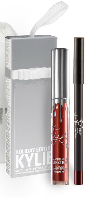 Kylie Cosmetics - Holiday - Matte Lip Kit - Merry (LE)