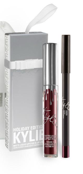 Kylie Cosmetics - Holiday - Matte Lip Kit - Vixen (LE)