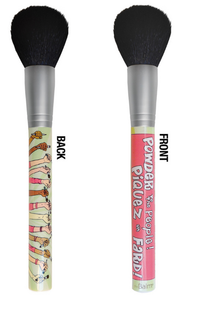 The Balm - Powder to the People - Powder/Blush Brush